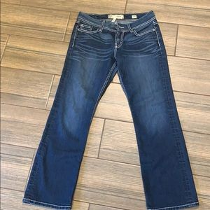 Bake Harper boot cut jeans